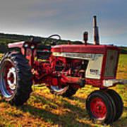 Farmall Tractor In The Sunlight Art Print