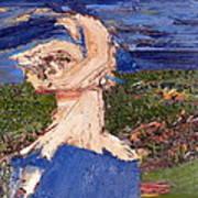 Farmers Widow  Art Print