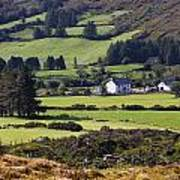 Farmland Near Kilgarvan County Kerry Art Print