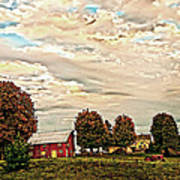Farms From The Fifties Art Print