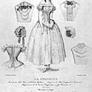 Fashion: Corset, C1850 Art Print