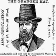 Fashion: Granger Hat Art Print