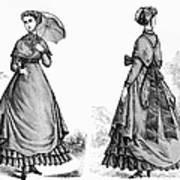 Fashion: Women, 1868 Art Print