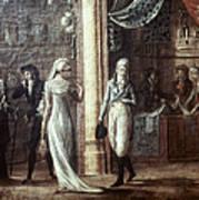 Fashionable Parisians, 1799 Art Print
