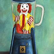 Fast Food Nightmare 2 The Happy Meal Art Print