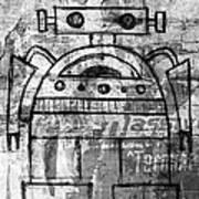 Fat-bot Art Print