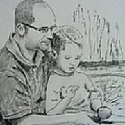 Father's Day Print by Lou Cicardo