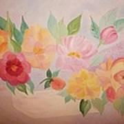 Favorite Flowers Art Print by Alanna Hug-McAnnally