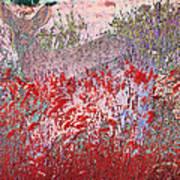 Fawns Hiding In Grass Art Print