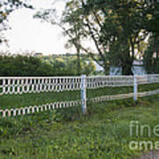 Fence Or Shoes Art Print