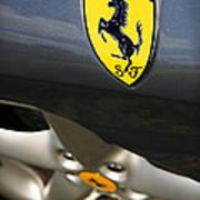 Ferrari 360 Spider F1 Art Print