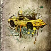 Ferrari Dino 246 Gts Art Print