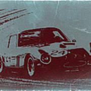 Ferrari Gto Art Print by Naxart Studio