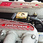 Ferrari Testarossa Art Print by Andrew  Cragin