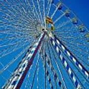 Ferris Wheel - Nuremberg  Print by Juergen Weiss