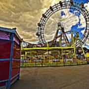 Ferris Wheel - Vienna Art Print