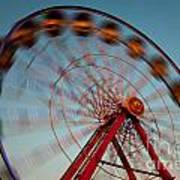 Ferris Wheel Iv Art Print