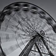 Ferris Wheel V Art Print