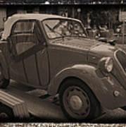 Fiat Dream Car Art Print
