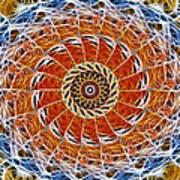 Fiber Eye Art Print