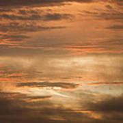 Fiery Atlantic Sunrise 2 Art Print