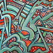 Fiesta Fiasco Art Print