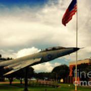 Fighter Jet Panama City Fl Art Print