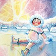 Figure Skater 10 Art Print