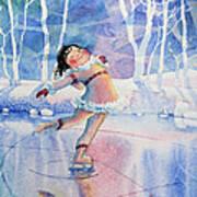 Figure Skater 14 Art Print