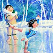 Figure Skater 15 Art Print