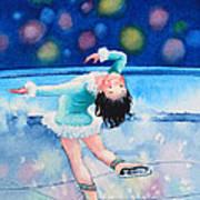 Figure Skater 16 Art Print