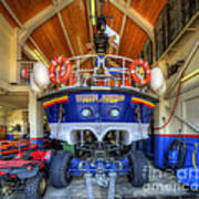 Filey Lifeboat Art Print