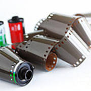 Film And Canisters Art Print