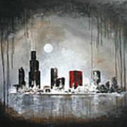 Film Noir Chicago Art Print
