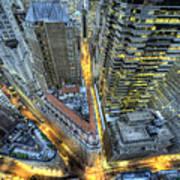 Financial District New York City Art Print