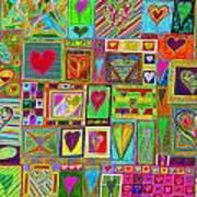 find U'r Love found    v15 Art Print