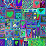 find U'r Love found    v13 Art Print