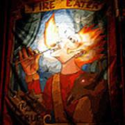 Fire Eater Art Print