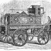 Fire Engine, 1862 Art Print