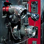 Fire Engine Apparatus Art Print