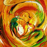Fire In Love Art Print
