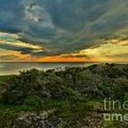 Fire Over The Outer Banks Art Print