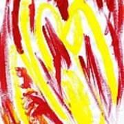 Fire Runner Art Print