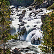 Firehole River IIi Art Print