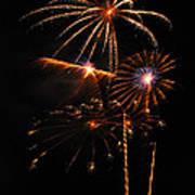 Fireworks 1580 Art Print