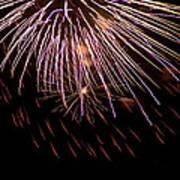 Fireworks Fun 14 Art Print