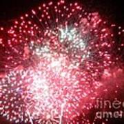 Fireworks Number 7 Art Print