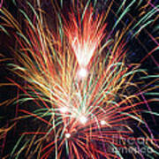 Fireworks One Art Print
