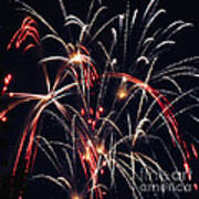 Fireworks Two Art Print