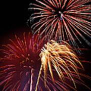 Fireworks Wixom 3 Art Print